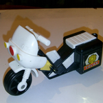 Fisher-Price Husky People 1970'S Police Motorcycle